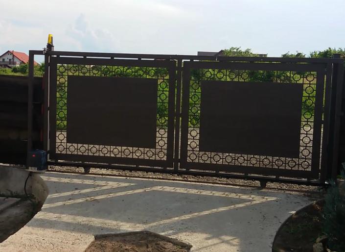 Automatizari Porti Culisante, Porti metalice