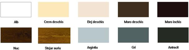 culoare usa rulou