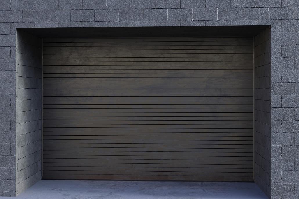 Uși de garaj automate metalice Gârbești
